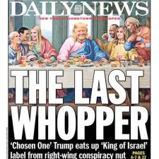 Donald Trump the last whopper